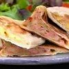 Pão árabe recheado