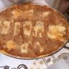 Lasanha dois molhos (bolonhesa e quatro queijos)